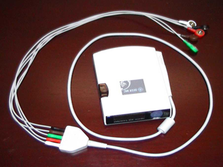 Portable Holter recorder with solid-state memory